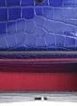 Matraş Hakiki Deri Çanta Mavi